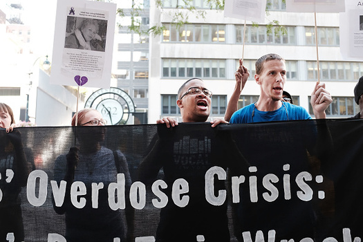 In 2015, there were 12 overdose deaths for every 100,000 Oregonians. (Spencer Platt/Getty Images)