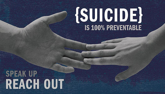 Speaking to someone who is showing warning signs of committing suicide is one of the most important tools for preventing it. (Department of Defense/Wikimedia Commons)