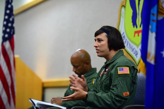There are as many as 9,000 transgender individuals on active duty in the military. (USAF/Airman 1st Class Jazmin Smith)