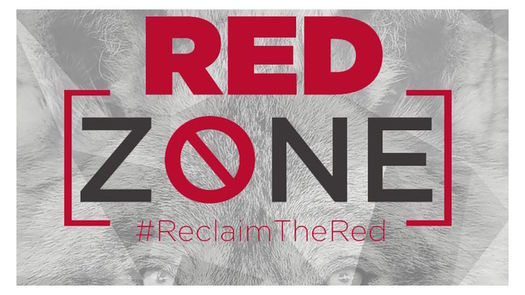 "The University of New Mexico's ""Reclaim the Red"" campaign hopes to educate students about preventing sexual assault. (UNM)"