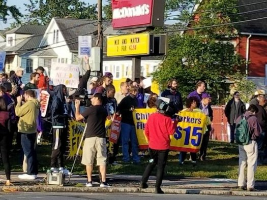 For Some In New England Labor Day Meant One Day Strike Public News