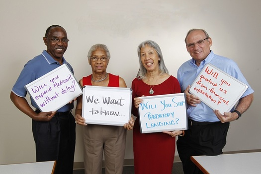 "AARP Virginia's program ""We Want To Know,"" #WW2K, uses social media to get candidates to answer folks' questions. (AARP VA)"