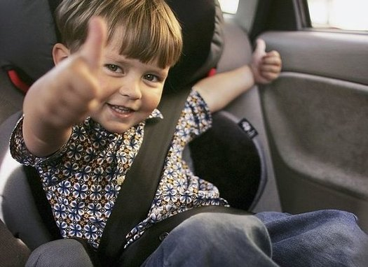 Car manufacturers are required to have at least three anchors for straps that hold child car seats. (Getty Images)