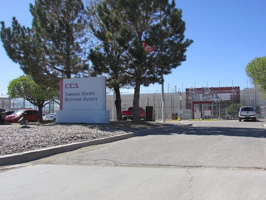The Torrance County Detention Facility, a for-profit private prison in Estancia, N.M., is scheduled to close because of a lack of prisoners. (CoreCivic.com)