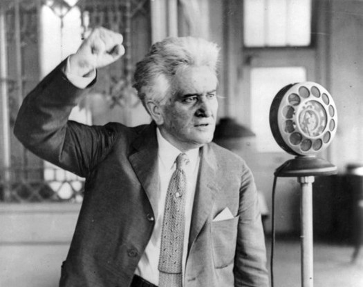 "Although he lived a century ago, Wisconsin progressives believe ""Fighting Bob"" La Follette's ideas are more relevant than ever. (Wikimedia Commons)"