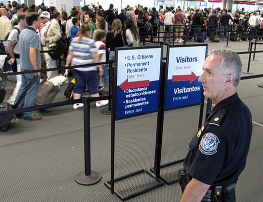 If you travel with a laptop or mobile device, a lawsuit filed in Boston could impact you. (CBP).