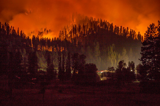 This year's wildfire season is the most expensive on record. Last year, the Pioneer Fire burned nearly 190,000 acres of the Boise National Forest. (U.S. Forest Service/Flickr)