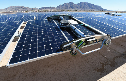 Colorado Gov. John Hickenlooper warns that imposing tariffs on solar panels could result in the loss of 47 gigawatts of solar installations, representing billions of dollars of infrastructure investments. (Getty Images)