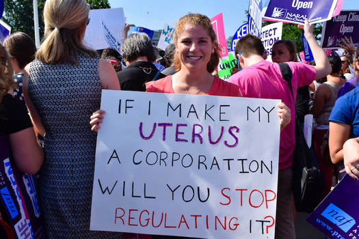 Critics say the Graham-Cassidy bill would have severely restricted reproductive rights. (Jordan Uhl, Flickr)