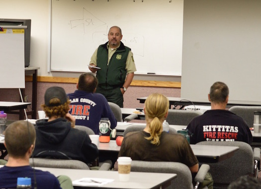 The Prescribed Fire Training Exchange is taking place in north central Washington, mainly on Okanogan-Wenatchee National Forest land. (The Nature Conservancy)
