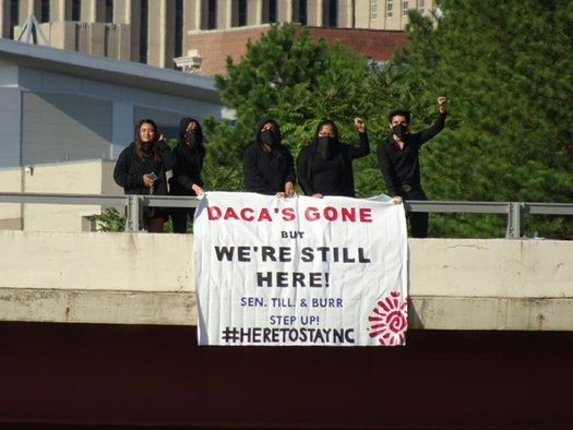 """""""Dreamers"""" in North Carolina are in need of prompt legal help and, in some cases, emergency assistance as they navigate the end of DACA. (El Pueblo)"""