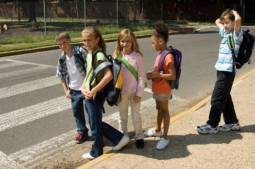 Only 13 percent of children walk or bike to school, compared with nearly 50 percent 50 years ago. (American Heart Association)
