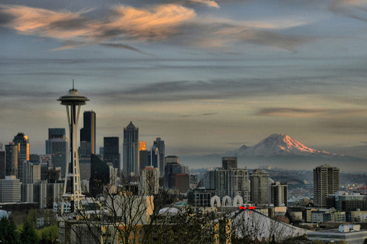 Seattle is the fastest growing big city in the country, but some worry its growth is leaving some communities behind. (Andrew E. Larsen/Flickr)