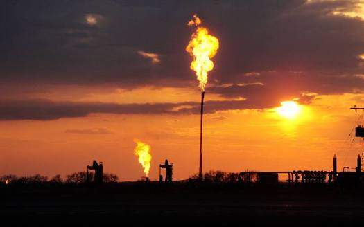 One of the largest oil and gas companies in the United States plans to drill in New Mexico's Permian Basin, and says it will follow Obama-era rules about capturing methane. (NOAA)