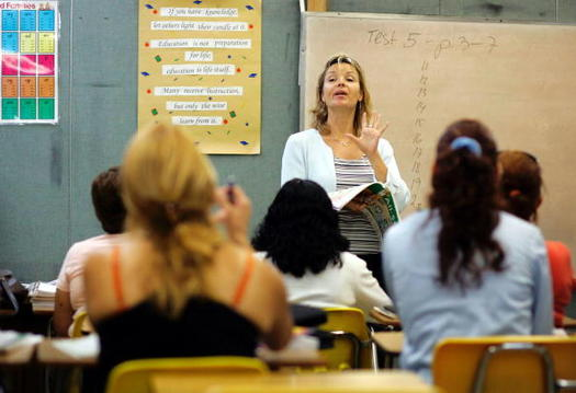 A new study examines the effects that a $5 billion funding cut had on Texas school districts and their students over a five-year period. (Raedle/GettyImages)
