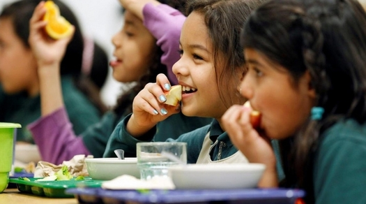More schools are using locally grown food. (U.S. Department of Agriculture)