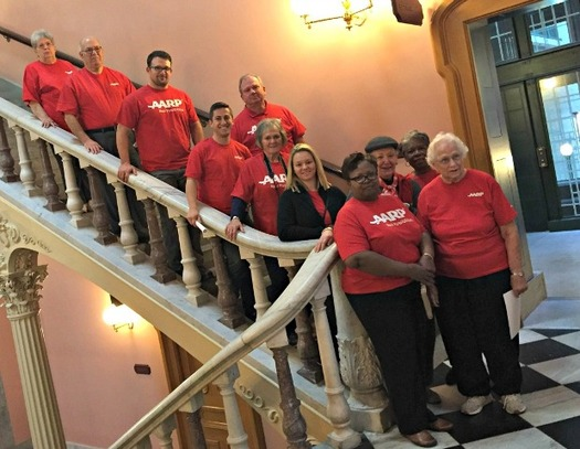AARP volunteers in Ohio have been educating folks about the state's new Caregiving Act. (AARP Ohio)