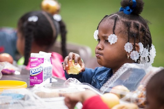 President Donald Trump's budget proposals have included cuts to federal nutrition programs. (ilhunger.org)
