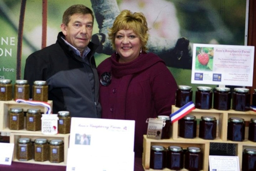 Daniel and Ann Trudel of Fredericktown used the Value-Added Producer Grant to expand their businesses outside of Ohio. (Ann's Raspberry Farm)