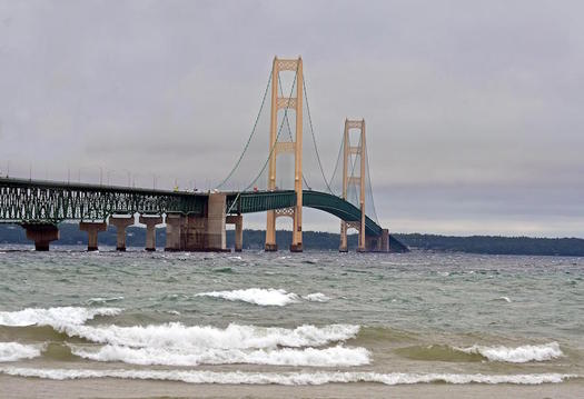 Michigan's iconic bridges are just some of the infrastructure vulnerable to the effects of a warming climate. (AcryllicArtist/morguefile)