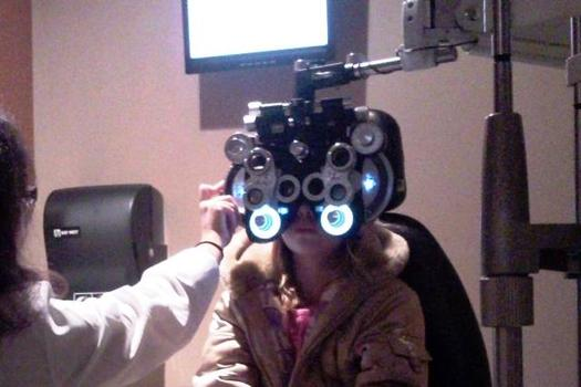 Financial barriers can prevent parents from scheduling a follow-up eye exam after a vision screening detects a problem with their child's eyesight. (Joe Whited/Flickr)