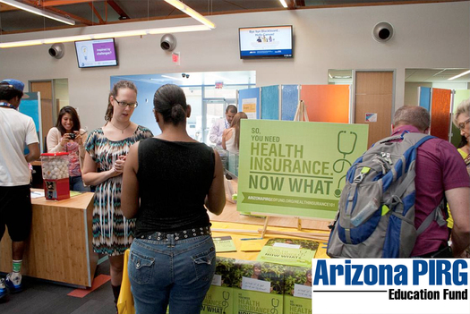 Multiple health insurance sign-up events are planned during the 45-day enrollment period. (AZ PIRG Education Fund)