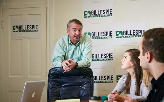 Critics charge Ed Gillespie's promises rely on unrealistic economic projections. (Gillespie for Governor)