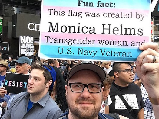 "The judge found ""absolutely no support"" for claims that service by transgender people negatively affects the military. (Jere Keys from NYC/Wikimedia Commons)"