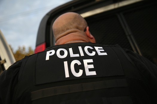 U.S. Immigration and Customs Enforcement has targeted undocumented immigrants outside of courthouses. (John Moore/Getty Images)