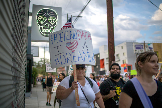 The DACA program protects more than 800,000 people nationwide. (David McNew/Getty Images)