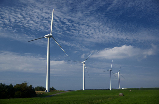 Advocates say Eastern North Carolina stands to gain the most from wind power, since landowners can lease land for more money than they can make in farming. (Jeff Kubina/Flickr)
