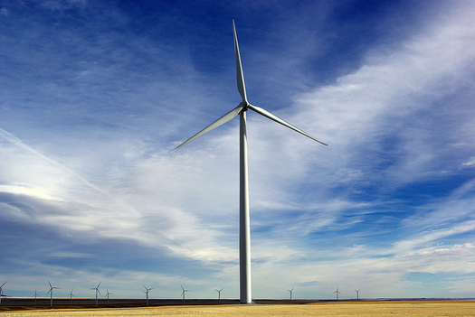 Montana's wind sector has the potential to power 6.4 million homes by 2030, according to the U.S. Dept. of Energy.  (David J. LaPorte/Flickr)