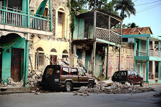 Most of the Haitians who are about to lose Temporary Protected Status came to the U.S. legally after the 2010 earthquake, and say they have little to return to. (Master Sgt. Jeremy Lock/US Air Force)