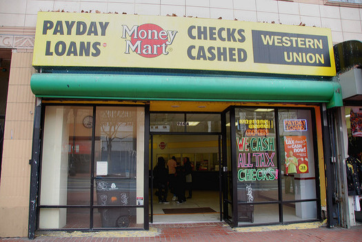 North Carolina could soon see more payday lenders popping up if federal legislation is passed that would supersede the state limit on interest rates. (Steve Rhoades/flickr)