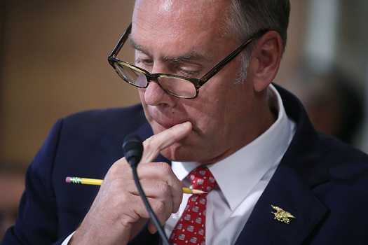 The U.S. Department of the Interior, led by Secretary Ryan Zinke, holds federal authority over 445 million acres of public lands. (Getty Images)