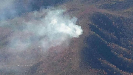 Wildfires and the cost of fighting them are often considered a western problem, but 14 people died in a 2016 fire in the Great Smoky Mountains. (National Park Service/Wikipedia)