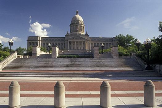 "Three Kentucky state legislators are recipients of the ""Champions for Justice Award"": Rep. Melinda Gibbons Prunty, Sen. Ralph Alvarado and Sen. Wil Schroder. (Mark Goebel/Flickr)"