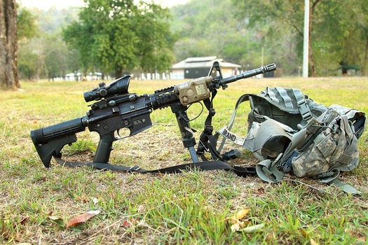 Countries that restrict access to military-style weapons have far fewer mass shootings. (Pixabay)