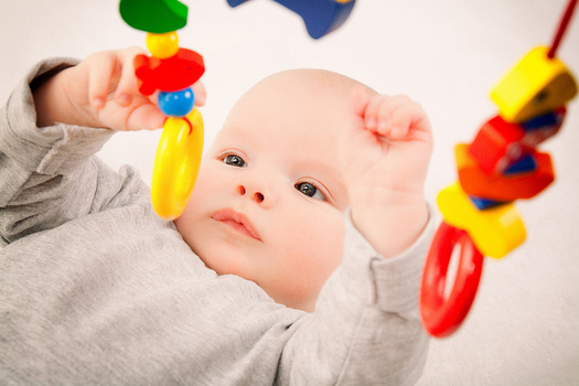 Parents should avoid buying toys with small parts that can present a choking hazard to small children. (Thomas/Flickr)