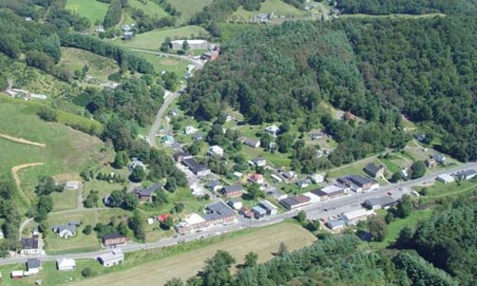 Small towns like Lansing, N.C., need residents who will start businesses and put down roots. Some in Congress are concerned that ending the DACA program will inhibit that. (Tom Fowler Aerial Photography/Wikipedia)