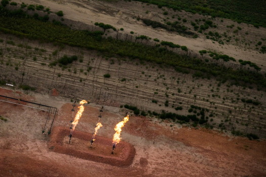 Since 2013, nearly $2 billion worth of natural gas has been lost on public and tribal lands. (Getty Images)