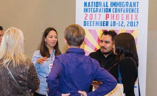 The National Immigrant Integration Conference in Phoenix this week will tackle issues like DACA, TPS, and President Trump's travel ban. (Phil Soto)
