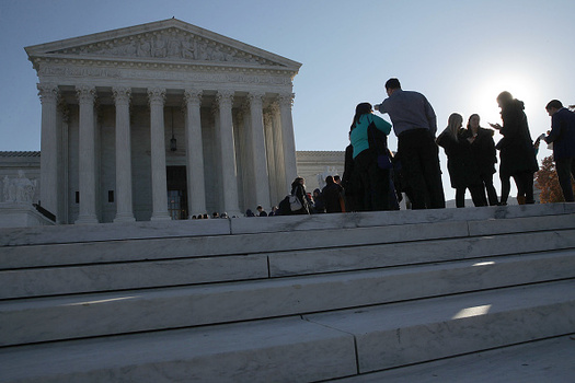 The U.S. Supreme Court is hearing a case that could undermine the Oregon Equality Act, which ensures anti-discrimination protections for the LGBTQ community. (Alex Wong/Getty Images)