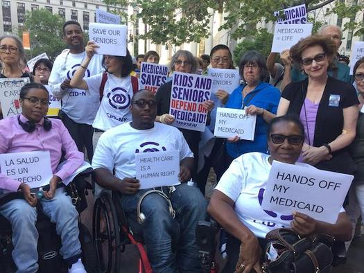Medicaid cuts would endanger services on which people with disabilities rely to stay independent, advocates say. (CIDNY)