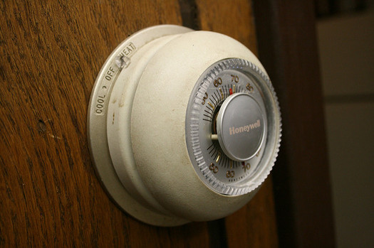 Turning down the thermostat even a degree or two can save South Dakotans money on their energy bills this winter. (midnightcomm/Flickr)