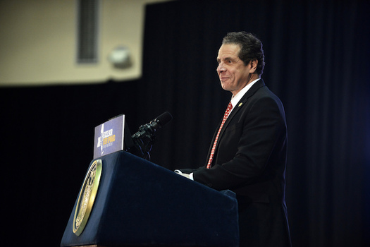 "Cuomo said the pardons ""take a critical step toward a more just, more fair and more compassionate New York."" (New York National Guard/Flickr)"