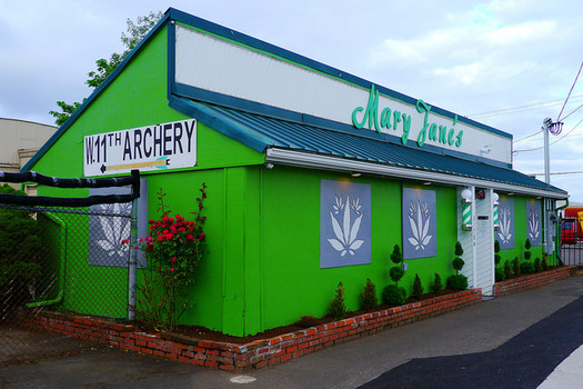 Oregon is one of eight states where the sale of recreational marijuana is legal. (Rick Obst/Flickr)