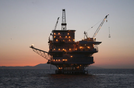 California could see more drilling rigs such as the Gail off of Santa Barbara in coming years, now that the feds are planning to reopen 98 percent of federal waters to drilling. (BOEM-OPA)