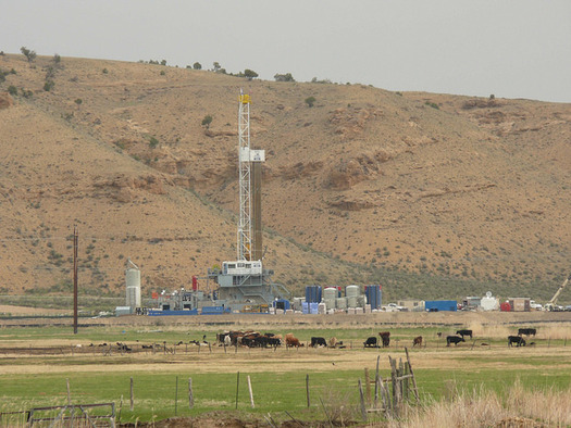 The link between babies' low birth weights and fracking sites is highly localized, according to recent research. (Jeff Foster/Flickr)