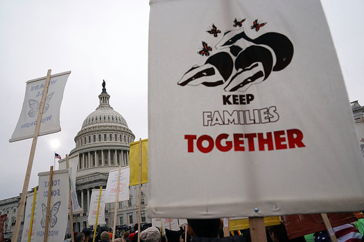 AFSC Colorado is organizing an open forum in Denver on Jan. 27 in an effort to build support for immigration policies that would prevent families from being separated through deportation. (Alex Wong/GettyImages)